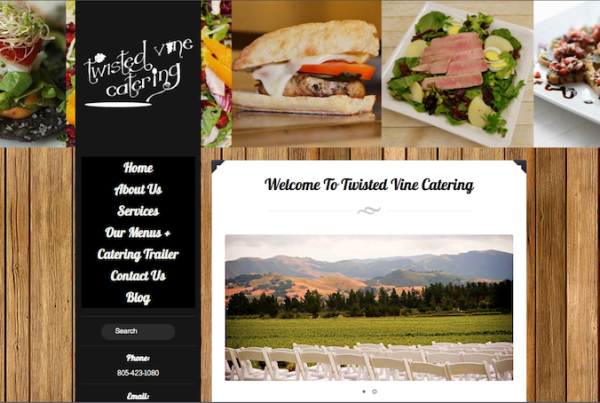 Twisted Vine Catering, Paso Robles, CA