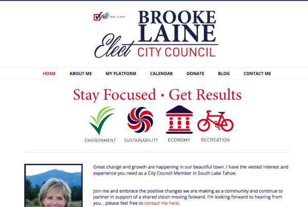 elect-brooke-laine-website-design-lake-tahoe