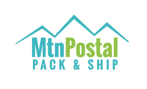Mountain Postal Pack & Ship - Business Card Design - Tahoe