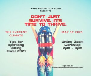 Don't just Survive. It's Time to Thrive. @ Virtual Workshop, Zoom